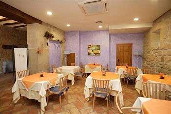 restaurante hotel villa de abalos